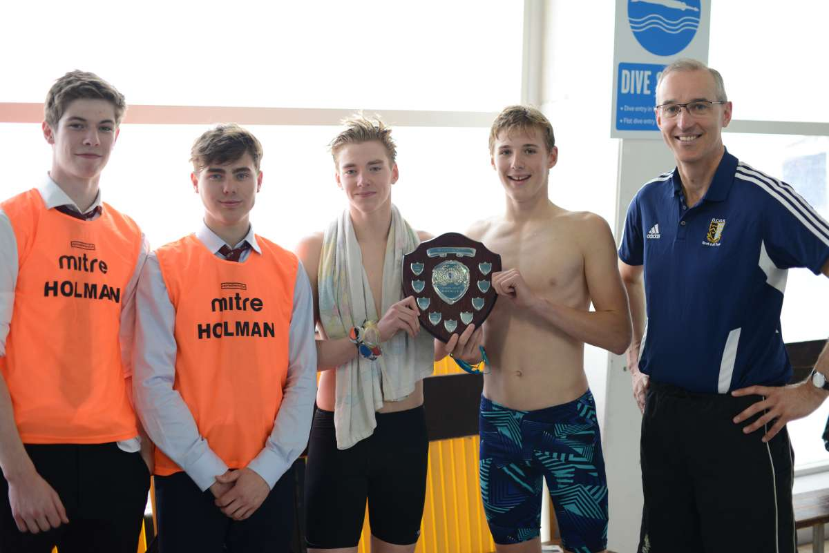 Holman Seniors victorious - Toby Pickard, Year 13