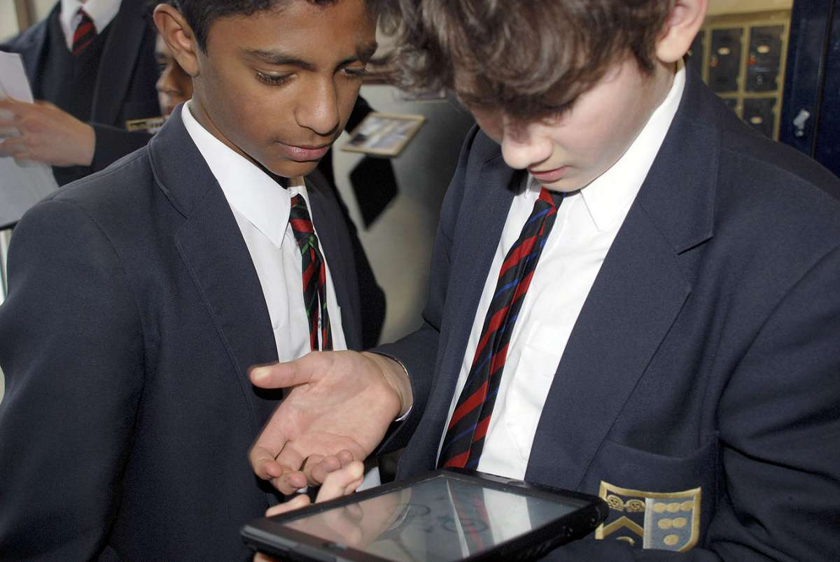 Scanning codes - Ruhan Shah, Year 8