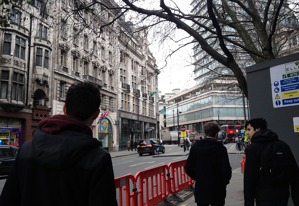 On the move in London - Jonny Rogers, Year 12