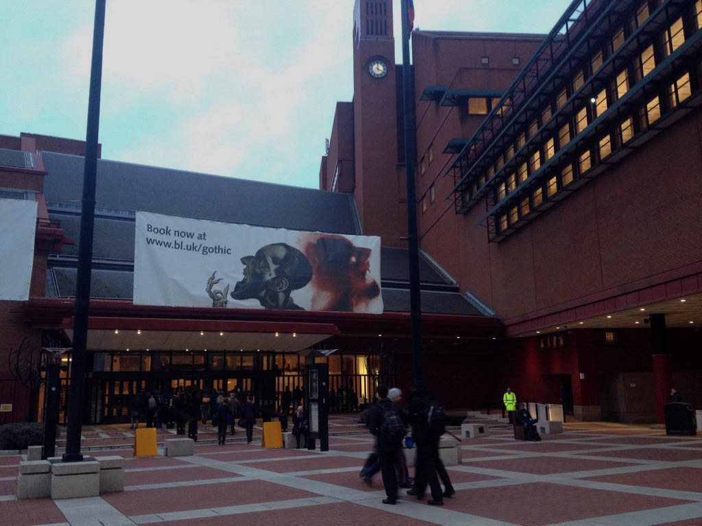 The British Library - Jonny Rogers, Year 12