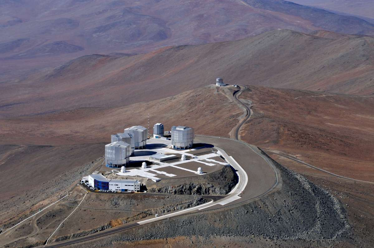 The Very Large Telescope in Chile - European Southern Observatory