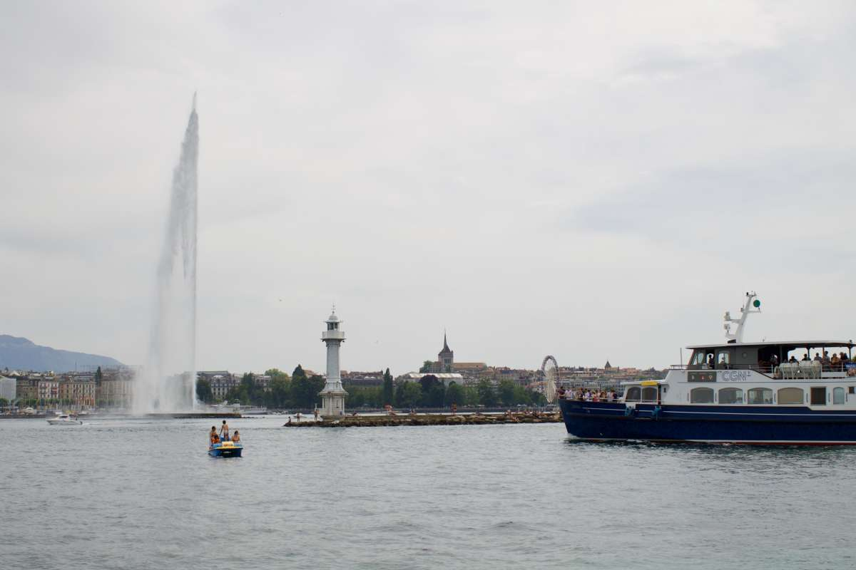 The 130m fountain