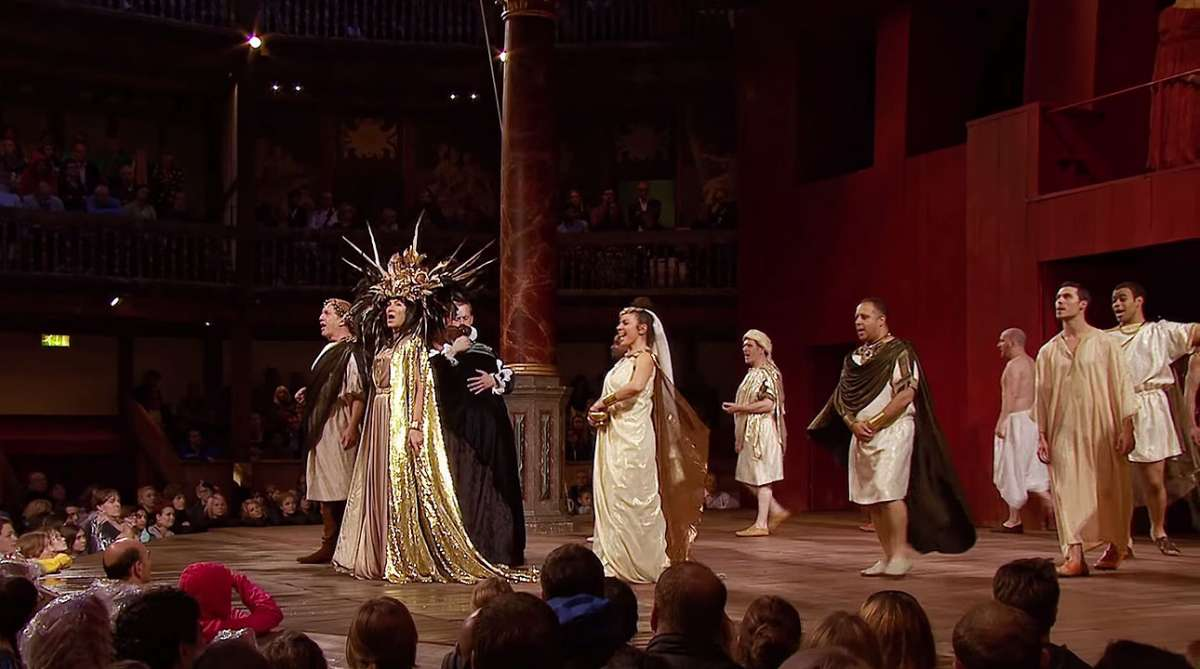 Ensemble scene - The Shakespeare Globe Trust
