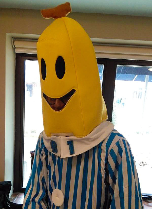 Banana in pyjamas - Daniel New, Year 12