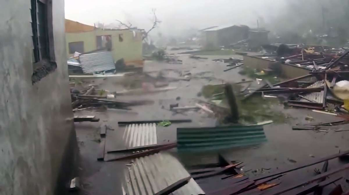 The effects of Cyclone Winston in Fiji