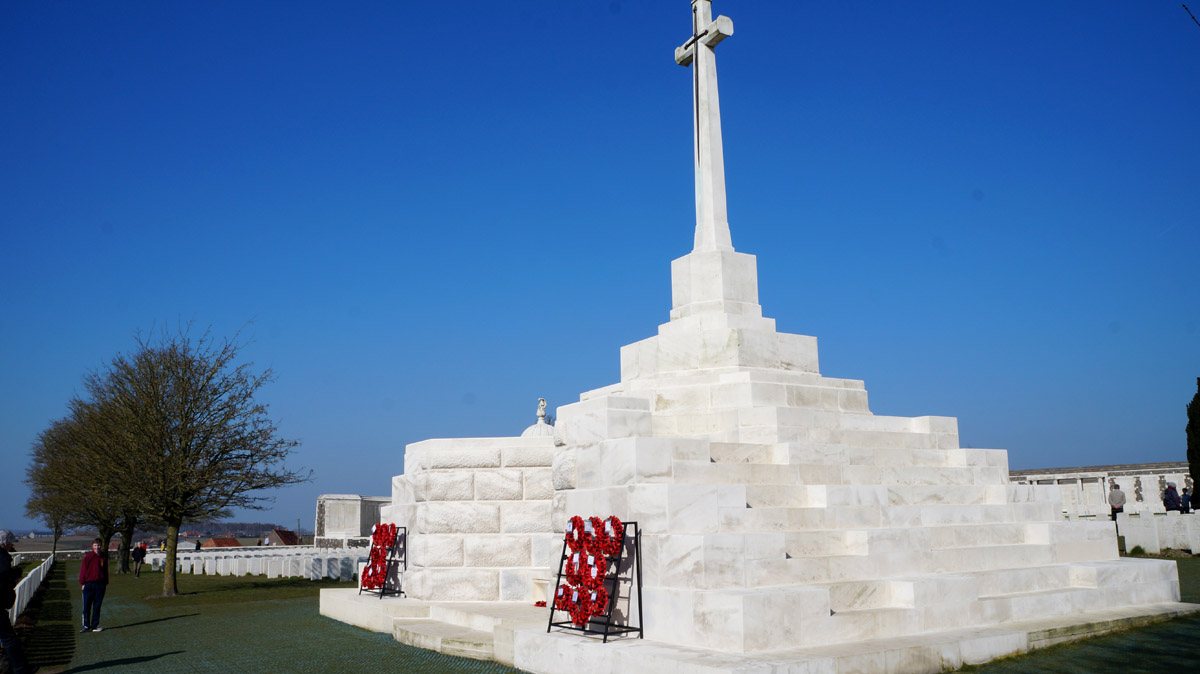 Tyne Cot - Tom Burke, Year 9