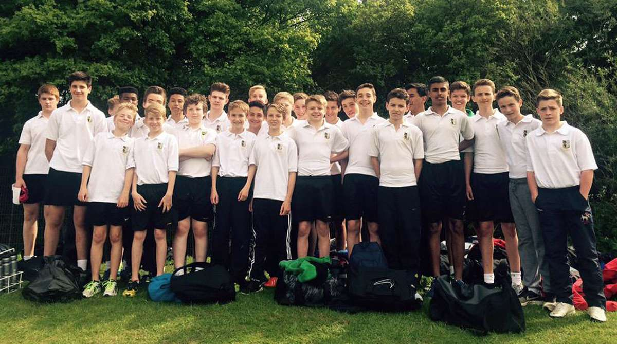 Junior and Intermediate athletics teams