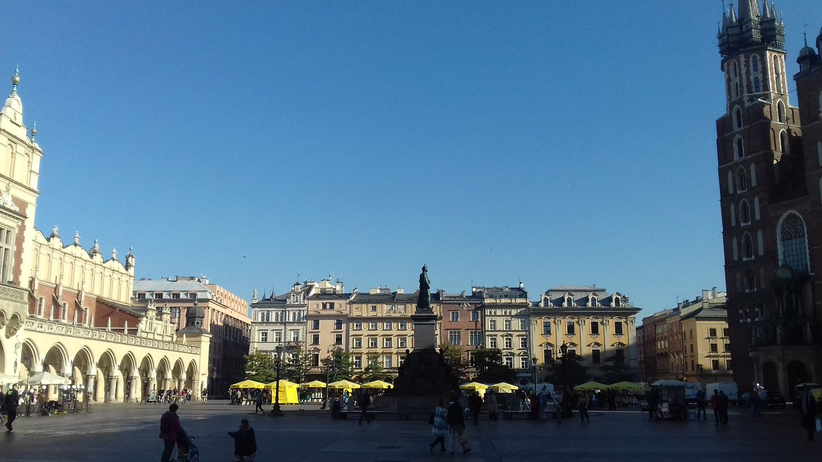 The largest medieval square in Europe, Rynek Glowny